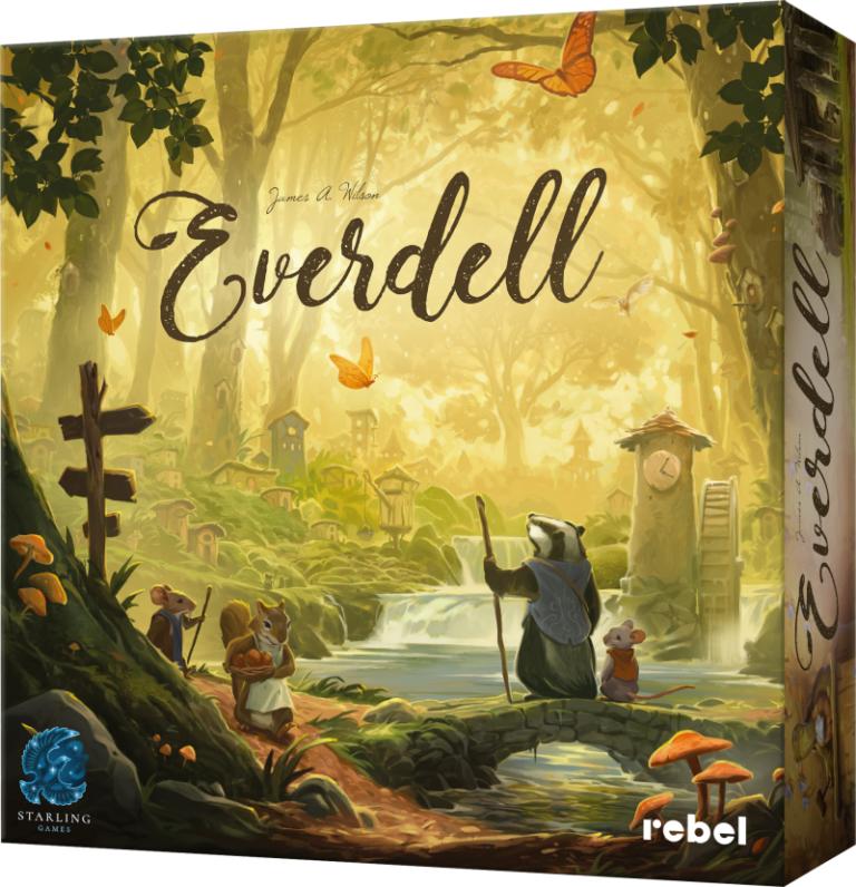 Budujemy swój kawałek lasu czyli Everdell